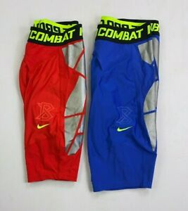 Men's Nike Pro Combat Hyperstrong Dri-Fit Compression TIGHT Fit Baseball Shorts