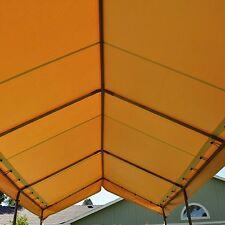 heavy duty vinyl 10x20 carport, canopy or portable garage cover, US made