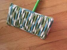Swifter Cover crochet handmade reusable 100% cotton clean dust pads Sweeper mop