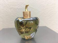 Collectible Lolita Lempicka eau de parfum Apple Shaped Glass Bottle Pre Own