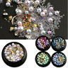 Mixed Acrylic Rhinestones Alloy Metal Pearl Manicure 3D Nail Art Decoration DIY