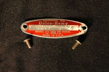 1958-62 GENERATOR TAG CHEVY 1102096 1102097 1102115 & MORE DATED-NEW-CHOOSE ONE
