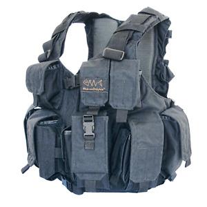 MAROM DOLPHIN  TV 7711 - IDF Infantry Tactical Vest Color: Black