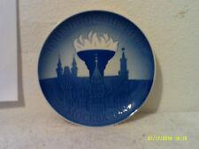 "Royal Copenhagen 1980 Collector Plate.""Moscow Games"""