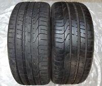 2 pneus d'été Pirelli Pzero TM AO 255/45 R19 100W ra697