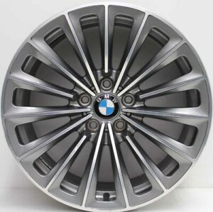 19 inch Genuine BMW 7 SERIES 2010 MODEL  FORGED POLISHED SINGLE ALLOY WHEEL