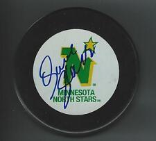 Dave GAGNER Signed MINNESOTA NORTH STARS Puck