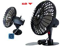 12V Ventilator  Auto-Ventilator KFZ-Ventilator Oszillierende Autoventilator