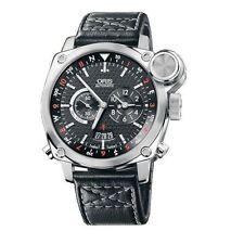 Oris BC4 Flight Timer Chronograph Stainless Steel Watch 690-7615-4154-LS