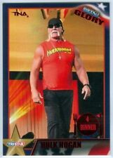 "HULK HOGAN ""RED PARALLEL BASE CARD #109 #04/40"" TNA IMPACT GLORY 2013"