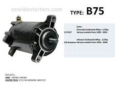 Evinrude / Johnson starter motor suits 90hp-115hp from 1995-2006