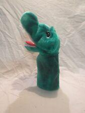 "Alligator Crocodile Hand Puppet Preschool Plush Soft Toy Stuffed Animal 14"""