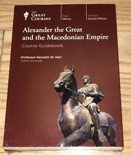 NEW! The Great Courses- Alexander the Great & Macedonian Empire. DVDs/Guide.