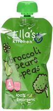 Ella's Kitchen Stage 1 brocoli POIRES & Pois 120 g (Pack de 7)