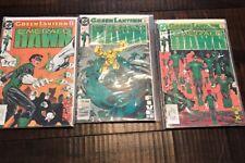 1989 DC Comics Green Lantern Emerald Dawn Lot #4 5 6