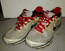 NIKE AIR MAX FLYWIRE 2010 WHITE BLACK RED MENS SIZE 9 1 2 386368 02f1de56e