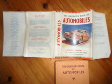 The Observer's Book Of Automobiles 1955 1st edition