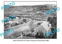 OLD 8x6 PHOTO OF BEECHWORTH PANOMARA c1880 VICTORIA