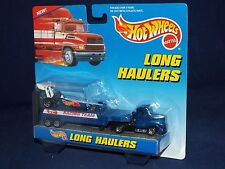 Hot Wheels 1998 Long Haulers Racing Team Truck & Trailer with Dragster