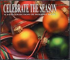 Celebrate the Season! - 3 CD Set ~ Various Artists ~ Christmas ~ Holiday ~ Used