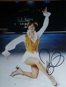 Dorothy Hamill Hand Signed 8X10 Photo W/ Holo COA