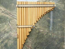 PROFESSIONAL LUPACA CHROMATIC  PAN FLUTE 41 PIPES -  FROM PERU