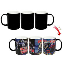 █ Iron Maiden Heat Reactive Color Changing Magic Coffee Cup Mug BS047