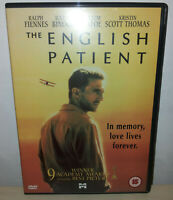THE ENGLISH PATIENT - ENGLISH - DVD
