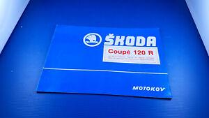 Fascicule publicitaire SKODA coupé 120R original des années 70