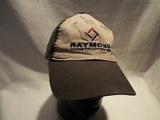 Raymond Construction INC. ball cap.  LOOK!
