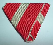 MEDAL RIBBON-GOOD TRIFOLDED REPUBLIC OF AUSTRIA IV & V CLASS 45mm ORDER OF MERIT