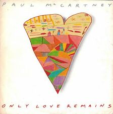 "7"" Paul McCartney (Beatles) – Only Love Remains // UK 1986"