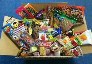 10-60 Japanese DAGASHI Box Sets- SWEET & SAVORY CANDY/CHIPS/CHOCOLATE+new Umaibo