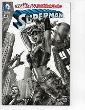 Superman #47 Harley's Little Black Book B & W Variant key comic