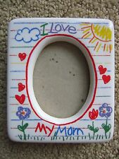 I Love My Mom Photo Frame