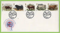 G.B. 1984 British Council set on u/a Royal Mail First Day Cover, Bureau