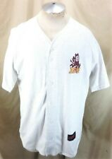 Vintage 90's Arizona State Sun Devils (XL) Retro NCAA Button Up Cotton Jersey