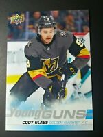 2019-20 Upper Deck Hockey Series 1 Oversized Young Guns Cody Glass Jumbo READ
