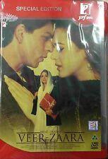 Veer Zaara - Shahrukh Khan, Preity Zinta - Hindi Movie 2 DVD Special Edition