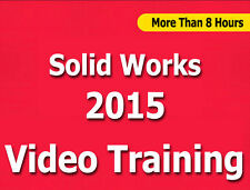 Learn SolidWorks 2015 Video Training Tutorials Cbt - 8+ Hours