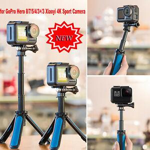 Waterproof Selfie Stick Tripod For GoPro Hero 8/7/5/4/3+/Xiaoyi 4K Camera/Phone