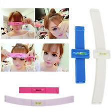 Professional Bangs Trim Tool Hair Cutting Clip Comb Hairstyle Typing DIY UK