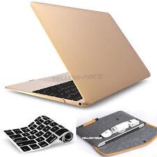 4-IN-1 For Apple Mac MacBook Air Pro 11/12/13'' Wool Felt Sleeve Bag Laptop Case