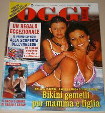 OGGI=2001/36=NATALIA ESTRADA=SUOR PAOLA=ROBERTA BETA=GADDO DELLA GHERARDESCA=