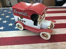 1997 Gearbox Limited Edition Coin Bank 1912 Campbells Soup Truck See Pics!
