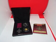 More details for 2014 tdc the victoria cross gold and silver  commemorative set - case & coa