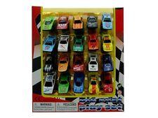 Boys Party Favor Sport Cars 20 Piece Mini Toy Diecast Vehicle Play Set