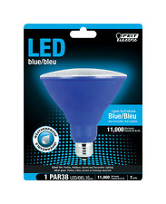 10.5 watts PAR38  LED Bulb  1000 lumens Blue  Decorative  40 Watt Equivalence