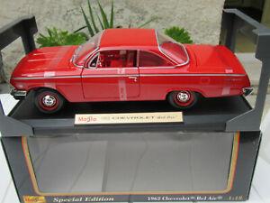 CHEVROLET BEL AIR  1962 MAISTO 1/18