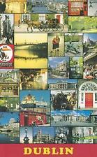 Dublin City Views Ireland Irish Poster 16 x 12 inch